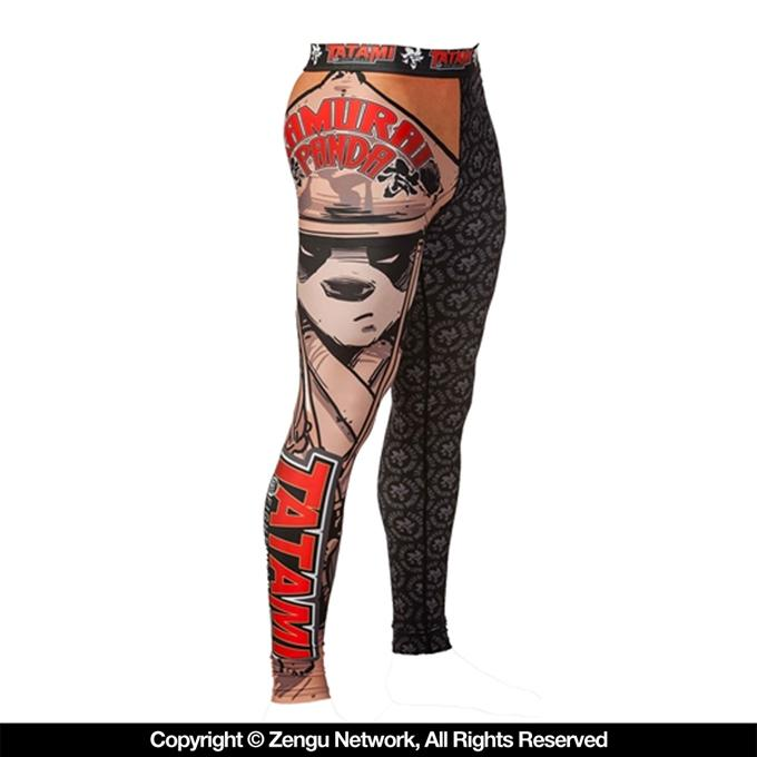 "Tatami x Chris Burns ""Samurai Panda"" Grappling Tights-1"