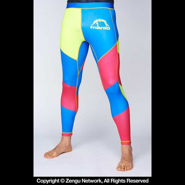 Manto-Multicolor Grappling Tights-1