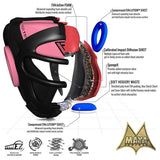 RDX T1 COMBOX PINK HEAD GUARD FOR WOMEN-2