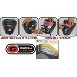 RDX T1 COMBOX PINK HEAD GUARD FOR WOMEN-5