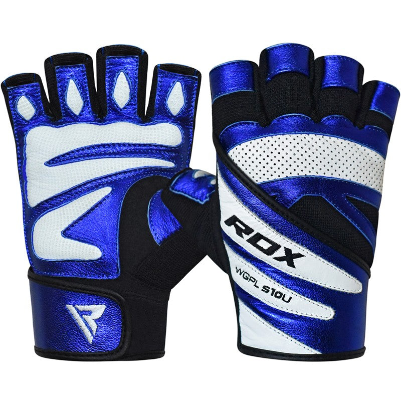 RDX S10 CONCEPT BLUE WEIGHTLIFTING GLOVES-1