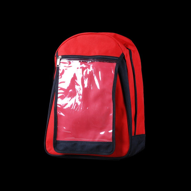 DYNAMIC- CPC BACK PACK-RED-FRONT