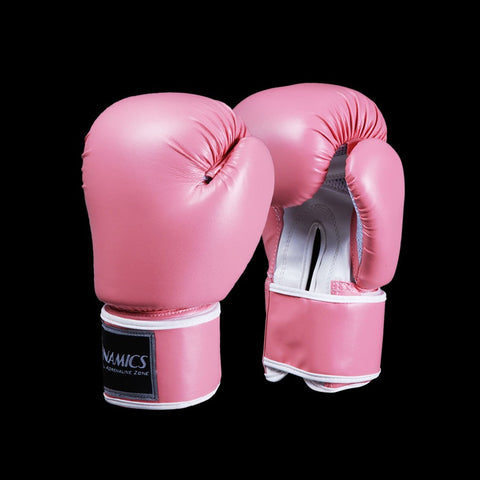 DYNAMICS-ELITE PINK BOXING GLOVES-1