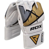 RDX T7 EGO MMA GRAPPLING GLOVES(Golden)-5