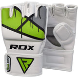 RDX T7 EGO MMA GRAPPLING GLOVES(Green)-4