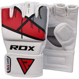 RDX T7 EGO MMA GRAPPLING GLOVES(Red)-3