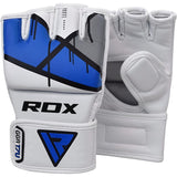 RDX T7 EGO MMA GRAPPLING GLOVES(Blue)-3