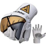 RDX T7 EGO MMA GRAPPLING GLOVES(Golden)-1