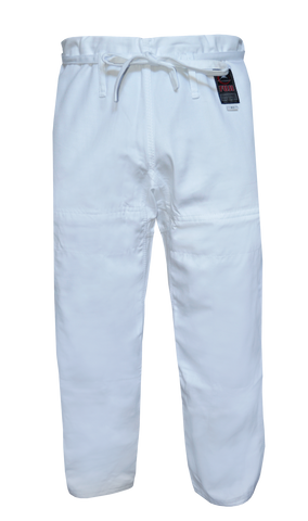 Fuji Kids BJJ Pants-White-1