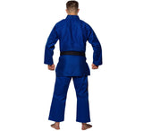 FUJI Single Weave Judo Gi-Blue-2