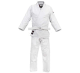 FUJI Single Weave Judo Gi-White-1