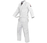 FUJI Single Weave Judo Gi-White-2