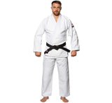 FUJI Single Weave Judo Gi-White-4