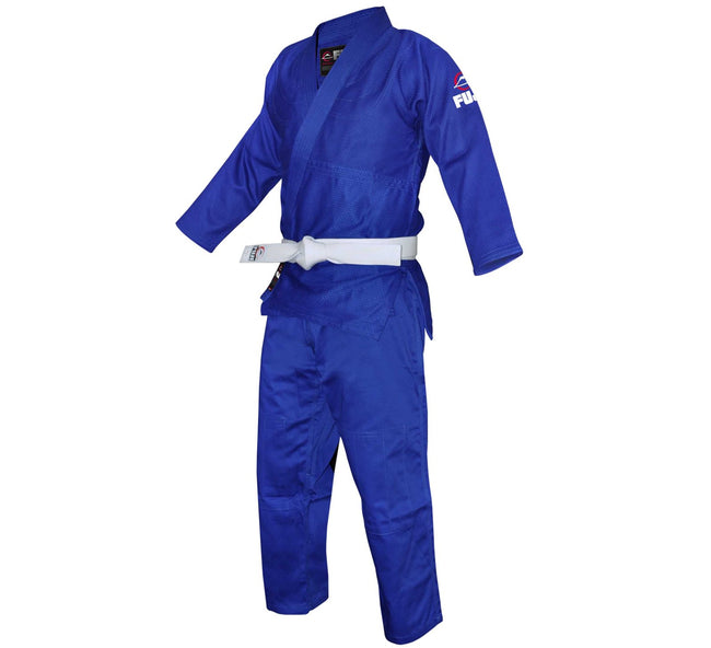 FUJI Single Weave Judo Gi-Blue-1