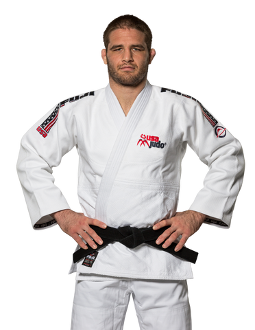 FUJI USA Judo Double Weave Gi-White-1