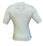 FUJI Inverted Short Sleeve Rashguard-White-3