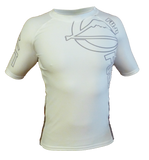 FUJI Inverted Short Sleeve Rashguard-White-2
