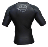 FUJI Inverted Short Sleeve Rashguard-Black-3