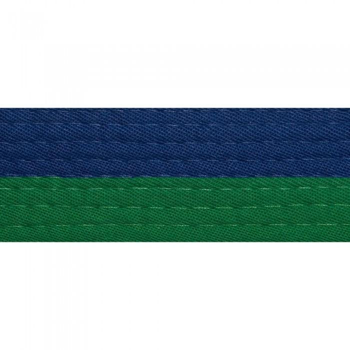 BOLD LOOK HALF BLUE WITH HALF COLOR BELTS-BLUE/GREEN-1