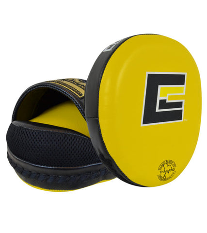 Combat Corner HMIT Air Punch Mitts Yellow-1