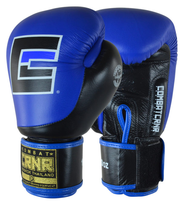 Combat Corner HMIT Boxing Gloves Blue-1
