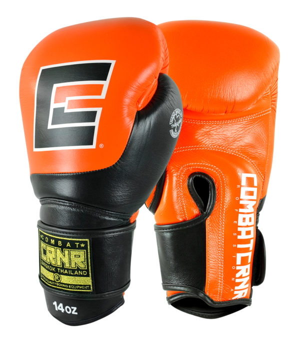 Combat Corner HMIT Champion Boxing Gloves Orange-1