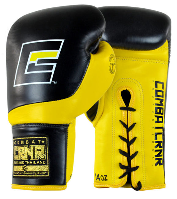 Combat Corner HMIT Lace Up Boxing Gloves-1