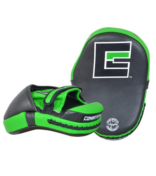 Combat Corner HMIT Tech Punch Mitts Green-1