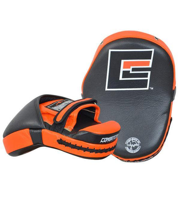 Combat Corner HMIT Tech Punch Mitts Orange-1