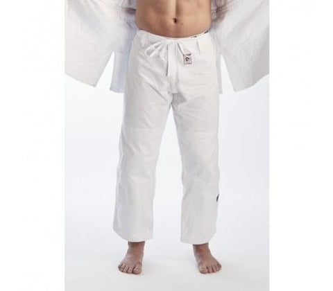 Fuji Ippon Gear Judo Gi Pants-White-1