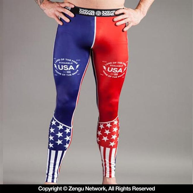 Scramble-USA Grapping Spats-1