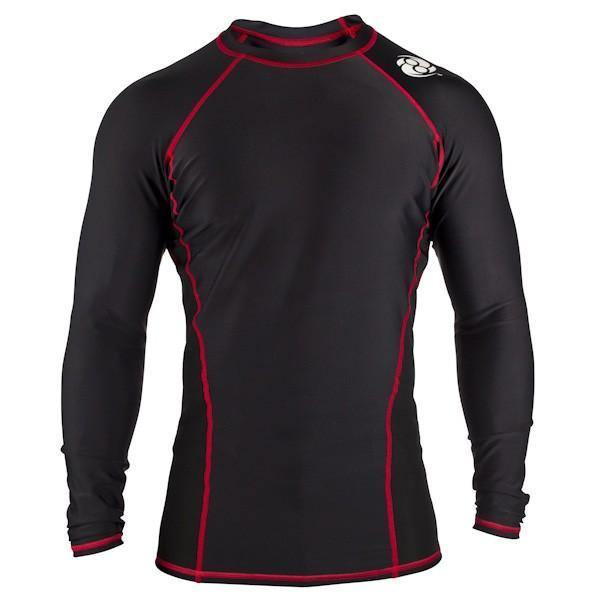 Clinch Gear-Signature Series - Long Sleeve Black-Rashguard-front