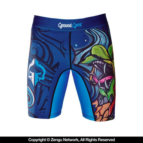 Ground Game-Irezumi Vale-Tudo Shorts-1
