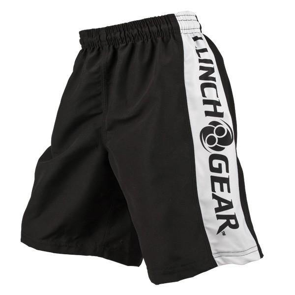 Clinch Gear-Youth Performance Shorts - Black-side-pose