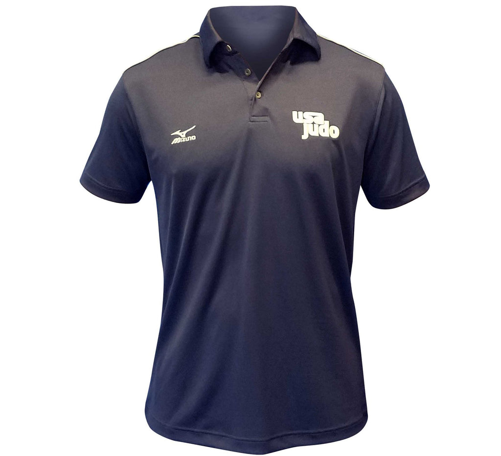 FUJI USA Judo Competition Polo-Blue-1