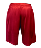 FUJI USA Judo Elite Workout Shorts-Red-2