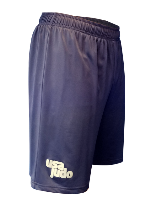 FUJI USA Judo Elite Workout Shorts-Blue-1