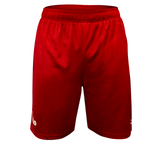 FUJI USA Judo Elite Workout Shorts-Red-1