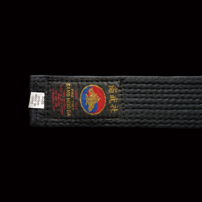 "DYNAMICS PINETREE 2"" WIDE BLACK BELT"