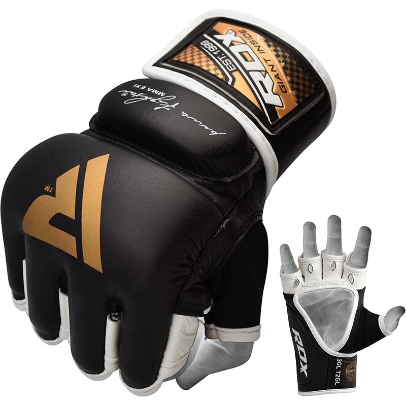RDX T2 QUEST LEATHER MMA GLOVES-1