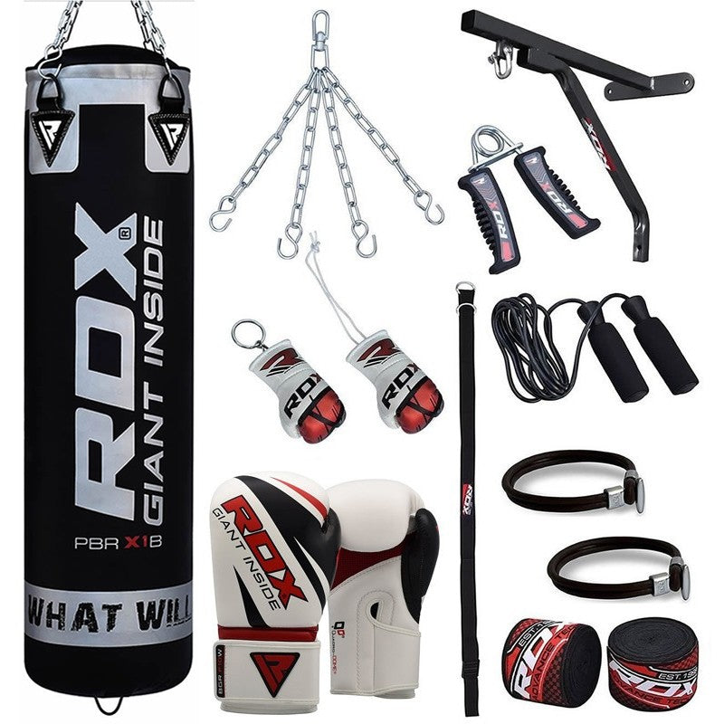 RDX 17PC PUNCH BAG SET WITH GLOVES-1