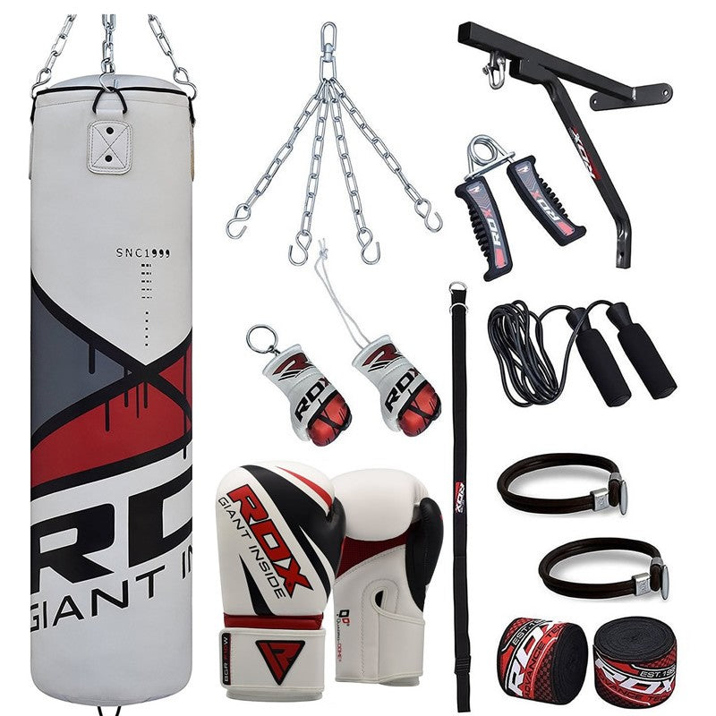 RDX 17PC HEAVY PUNCHING BAG & BOXING SET-1