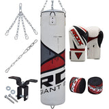 RDX 8PC HEAVY PUNCH BAG & GLOVES SET-1