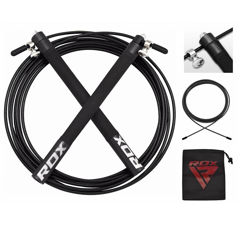 RDX C3 ADJUSTABLE SKIPPING ROPE/Blk-1