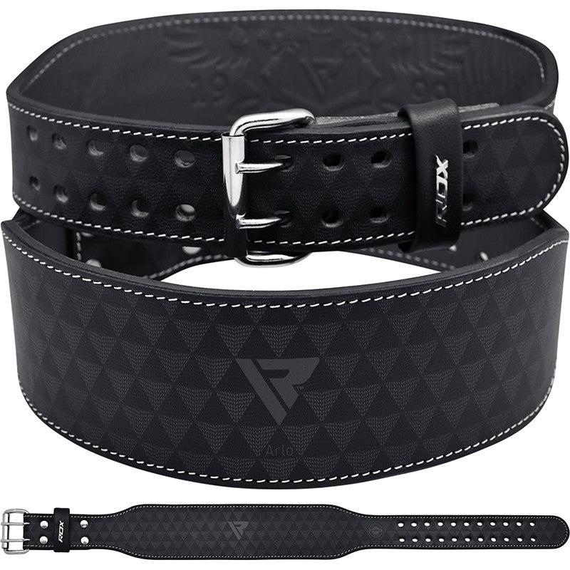 RDX ARLO 4 INCH WEIGHT LIFTING GYM BELT/Blk-1