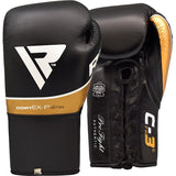 RDX C3 PROFESSIONAL BOXING GLOVES/Blk-1