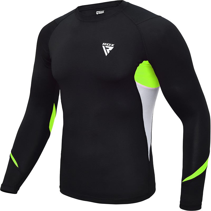 RDX L3 BASE LAYER RASH GUARD SWEATSHIRT/Gre-1