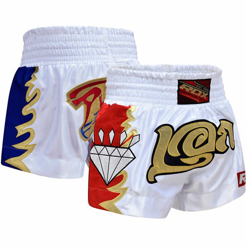 RDX R3 DIAMOND SATIN MUAY THAI SHORTS-1