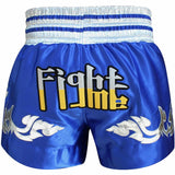 RDX R1 FIRE SATIN MUAY THAI SHORTS-4