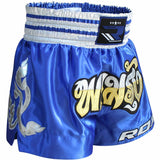 RDX R1 FIRE SATIN MUAY THAI SHORTS-7